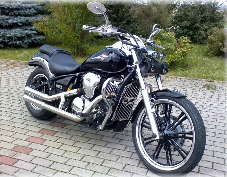 Kawasaki Vn Meanstreak