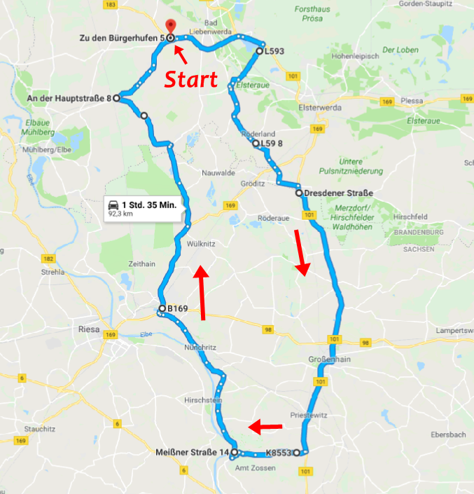 Route 2019 groß